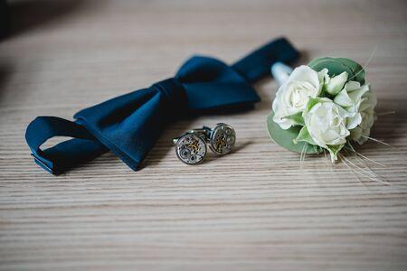 wedding flowers bride bouquet rings 스톡 콘텐츠