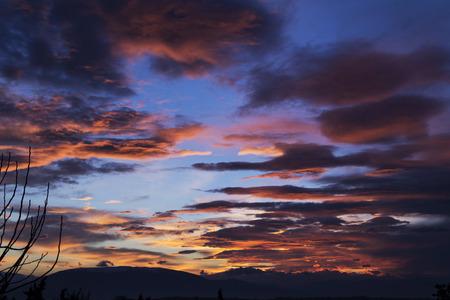 umbria: Sunset in Umbria