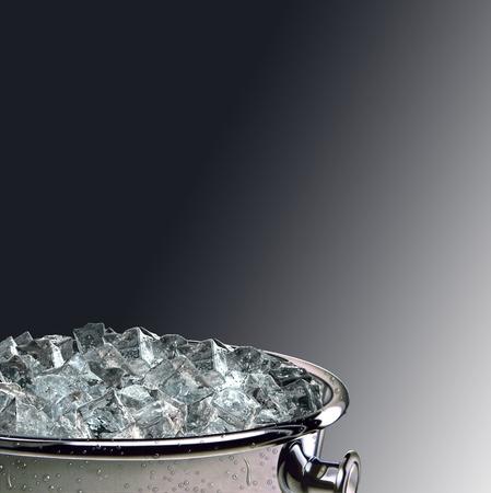 cubitos de hielo cubo
