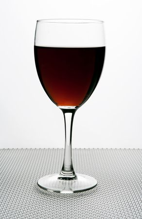 red wine glass Standard-Bild