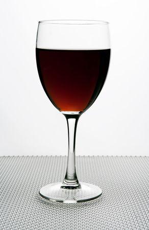 red wine glass Stock Photo