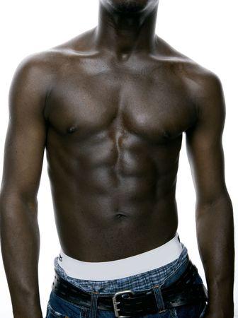 beach hunk: man body