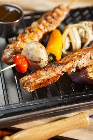 meat grilled