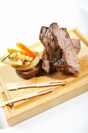 sumptuous: meat Stock Photo
