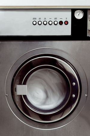 washing machine Standard-Bild