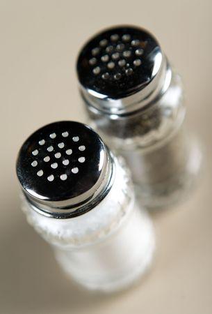 pepper and salt Stock Photo