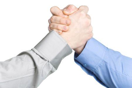 Arm wrestling Banco de Imagens