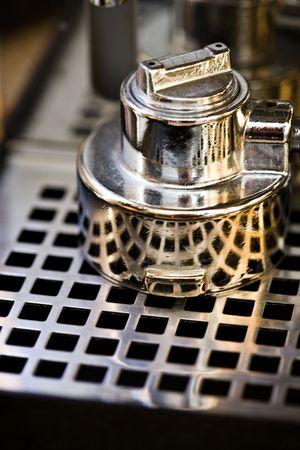 Proffesional coffee machine Stock Photo - 2790973