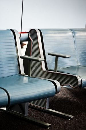 Waiting area at an airport Stock Photo - 2914210