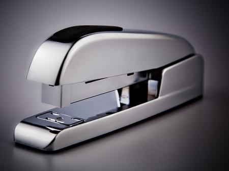 office stapler: Silver Stapler