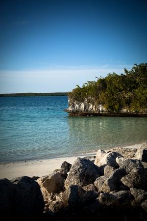 Beautiful Natural tropical ocean landscape