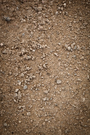 Dirty brown Sand Background with Nobody