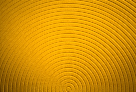 Yellow funky curves background image with nobody