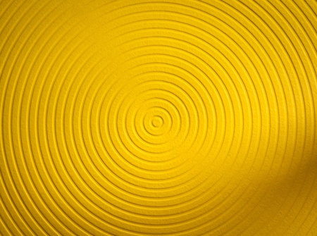 Yellow funky circles background image with nobody