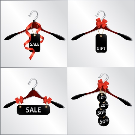 hanger design, emblem, sale in the shop
