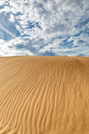 Looking up at patterns in the Imperial sand dunes