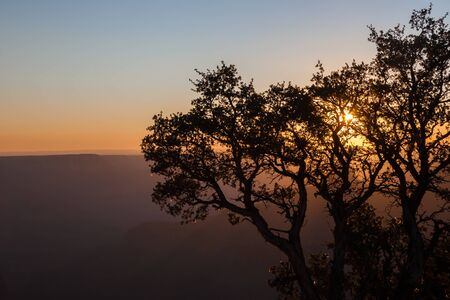 A Grand Canyon Sunset View
