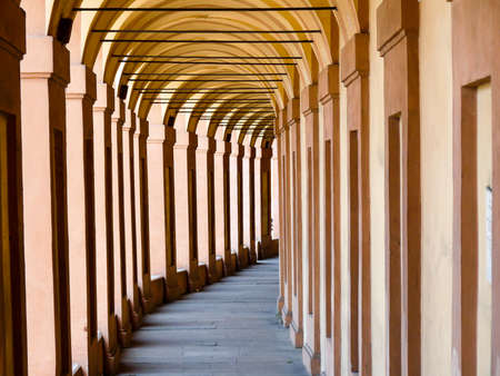 Architectural arches in Bologna