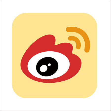 Icon eye moving logo isolated at the white background 向量圖像