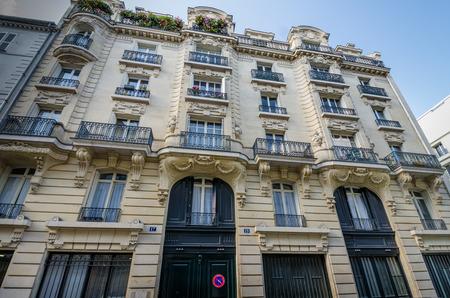 túladagolás: Párizs, Franciaország, október 9, 2014 - Jim Morrison élt a harmadik emeleten a Rue Beautreillis 17 Párizsban, amikor meghalt heroin túladagolásban 1971-ben.
