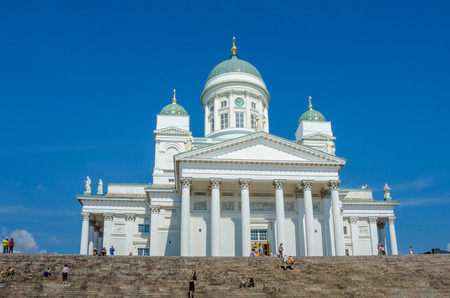 finnish: Helsinki Cathedral is an Evangelical Lutheran church and a major tourist attraction in the Finnish capital.
