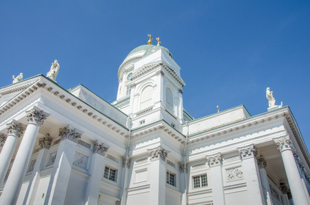 evangelical: Helsinki Cathedral is an Evangelical Lutheran church and a major tourist attraction in the Finnish capital.