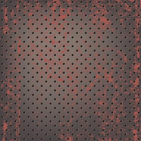 oxidado: Textura de malla met�lica oxidada