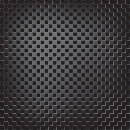 Texture of square metalic mesh Vector