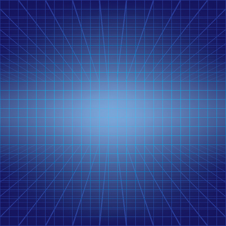 stipes: abstract color background with blue squares and stipes