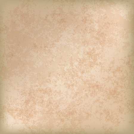 beige: abstract grunge background of old paper texture Illustration