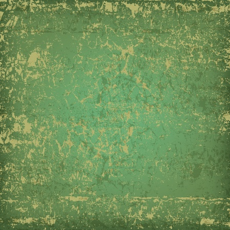 grunge wall: abstract grunge green background dirty wooden plank Illustration