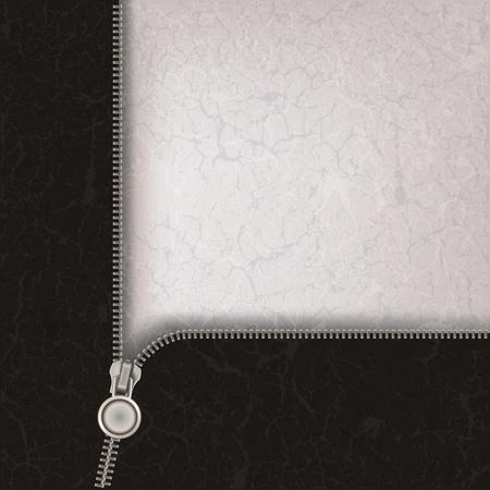 abstrakcyjna szare tło z metalicznym otwartym zamkiem