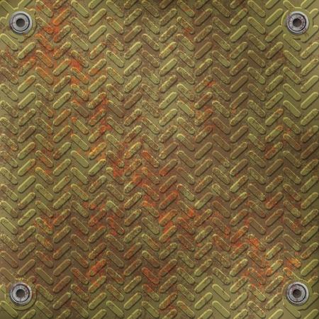 effet: grunge abstraite de vert rouill� plaque metall