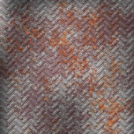 grunge astratto di texture arrugginito grigio metall Vettoriali
