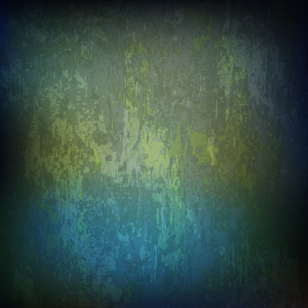 abstract green blue grunge background of vintage texture Stock Vector - 22069487
