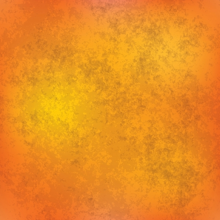 grunge background: abstract orange grunge background of vintage texture Illustration