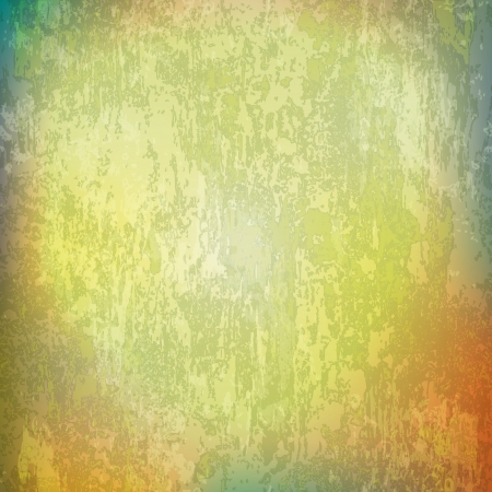 abstract green grunge background of vintage texture Vector