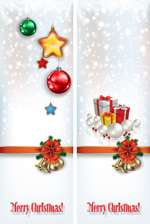 abstract celebration greetings with Christmas illustrative elements Vector