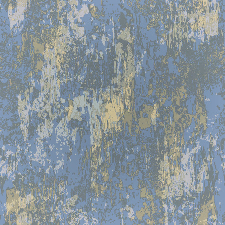 rusted: abstract seamless texture of blue rusted metal