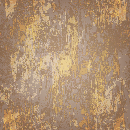 rusted: abstract seamless texture of brown rusted metal Illustration
