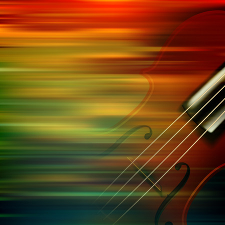 groupe: abstract brown motion blur background with violin