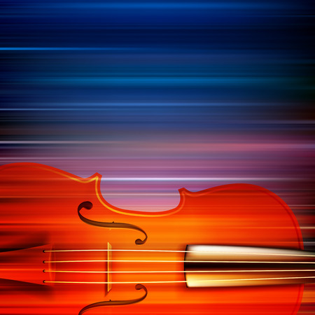 groupe: abstract blur music background with violin