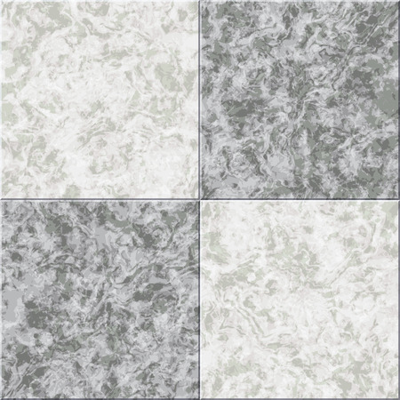 granite floor: abstract gray white marble seamless texture vector tiled background Illustration