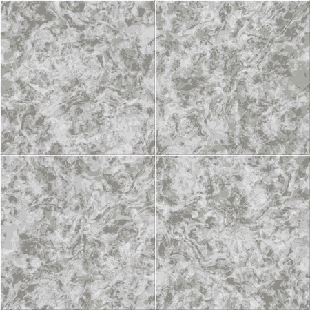 granite floor: abstract gray marble seamless texture vector tiled background