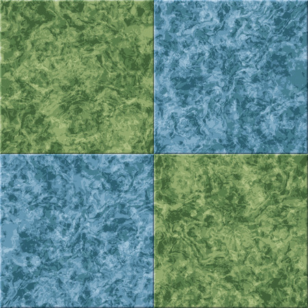 abstract blue green marble seamless texture vector tiled background