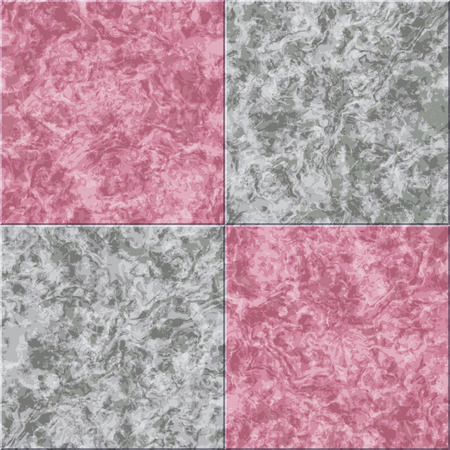 tiled: abstract gray pink marble seamless texture vector tiled background Illustration