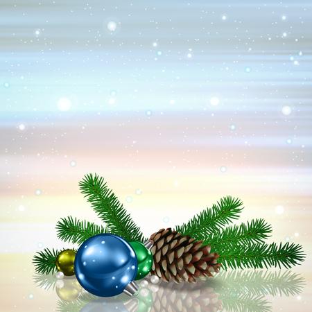 Christmas greeting card design.