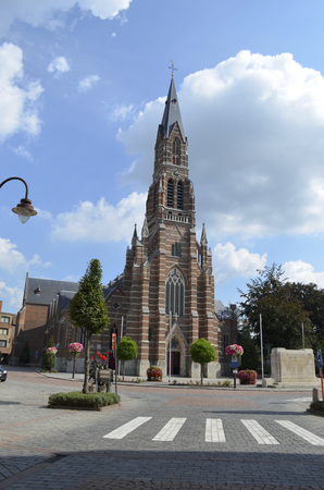 Church Kontich Banco de Imagens