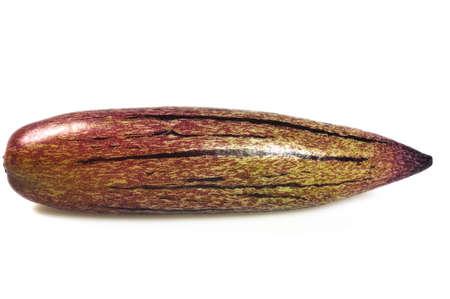 pepino: pepino melon isolated on white background Stock Photo