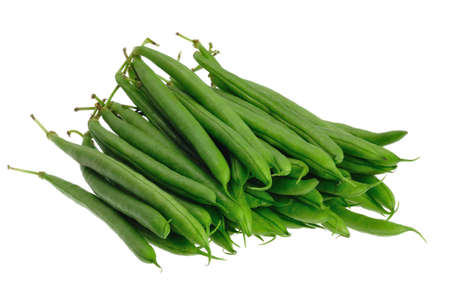 a bunch of green beans photo